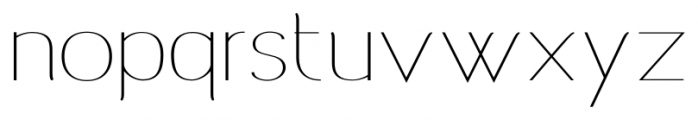 Archivio  Contrasted 400 Font LOWERCASE