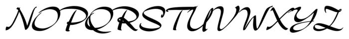 Archivo Regular Font UPPERCASE