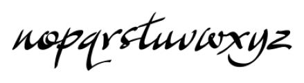 Archivo Regular Font LOWERCASE