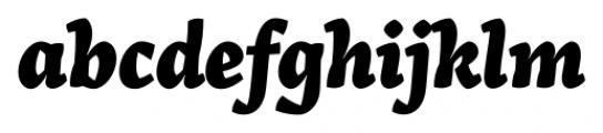Arek Latin Extra Bold Italic Font LOWERCASE