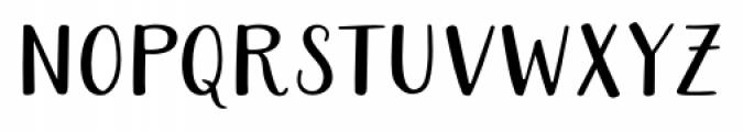 Ariadne Sans Condensed Font LOWERCASE