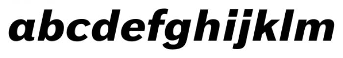 Armitage Black Italic Font LOWERCASE