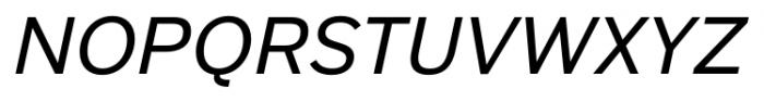 Armitage Italic Font UPPERCASE