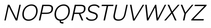 Armitage Light Italic Font UPPERCASE