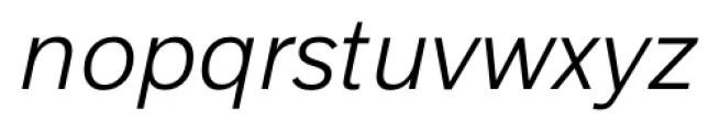 Armitage Light Italic Font LOWERCASE