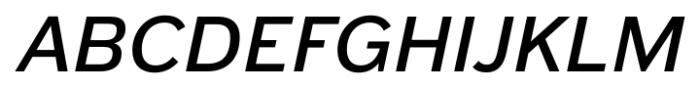 Armitage Semibold Italic Font UPPERCASE