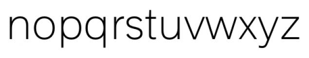 Armitage Thin Font LOWERCASE