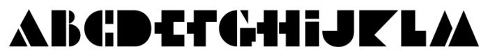 Art Museum JNL Regular Font UPPERCASE