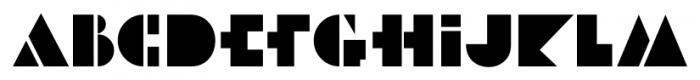 Art Museum JNL Regular Font LOWERCASE