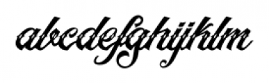 Artonic Dot Font LOWERCASE