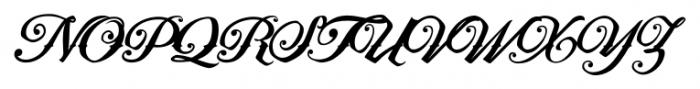 Artonic Regular Font UPPERCASE