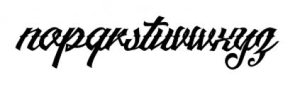 Artonic Regular Font LOWERCASE