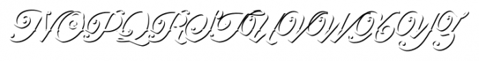 Artonic Shadow Font UPPERCASE