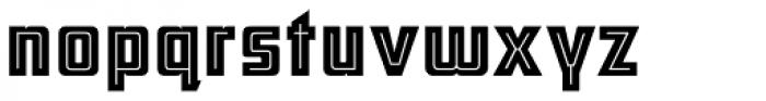ARB 66 Neon Inline JUN-37 DTP Normal Font LOWERCASE