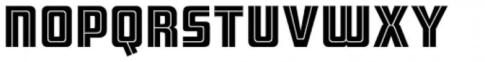 ARB 66 Neon Line JUN-37 DTP Normal Font UPPERCASE