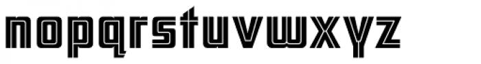 ARB 66 Neon Line JUN-37 DTP Normal Font LOWERCASE