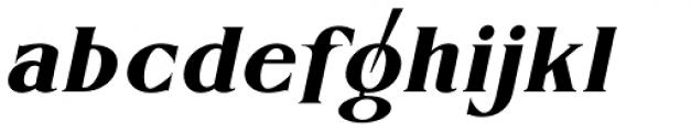 ARB 67 Modern Roman JUL-37 CAS Normal Italic Font LOWERCASE
