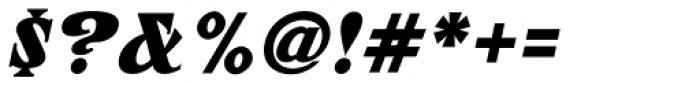ARB 67 Roman Tall JUL-37 DTP Bold Italic Font OTHER CHARS