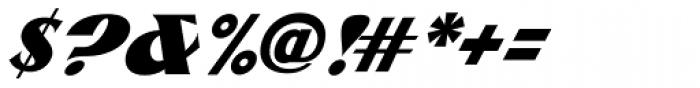 ARB 85 Poster Script DTP Font OTHER CHARS