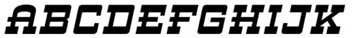 ARB 93 Steel Moderne SEP-39 CAS Bold Italic Font UPPERCASE