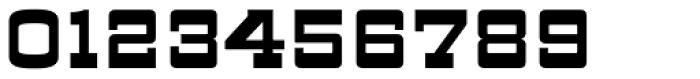 ARB 93 Steel Moderne SEP-39 CAS Bold Font OTHER CHARS