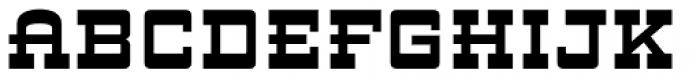ARB 93 Steel Moderne SEP-39 CAS Bold Font UPPERCASE