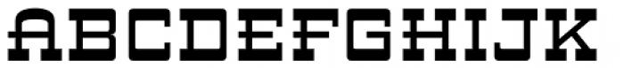 ARB 93 Steel Moderne SEP-39 CAS Normal Font UPPERCASE