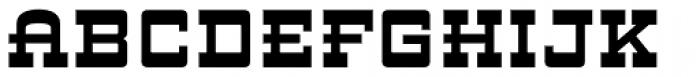 ARB 93 Steel Moderne SEP-39 DTP Bold Font UPPERCASE