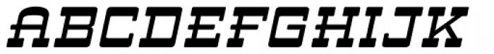 ARB 93 Steel Ms Blunt SEP-39 DTP Normal Italic Font UPPERCASE