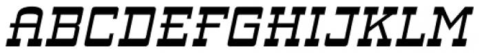 ARB 93 Steel Narrowe SEP-39 DTP Normal Italic Font UPPERCASE