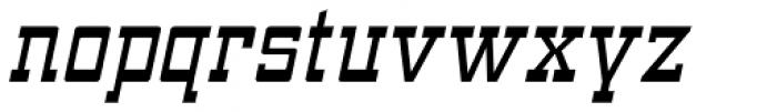 ARB 93 Steel Narrowe SEP-39 DTP Normal Italic Font LOWERCASE