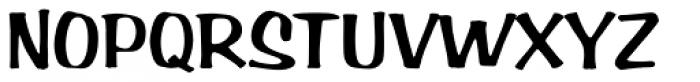 Arab Brushstroke D Font UPPERCASE