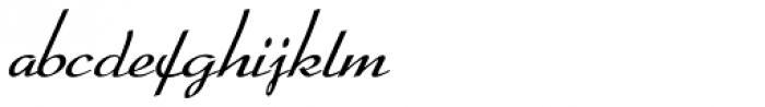 Arabella Pro Light Font LOWERCASE