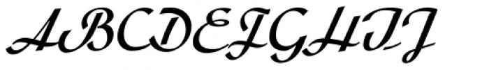 Arabella Pro Medium Font UPPERCASE