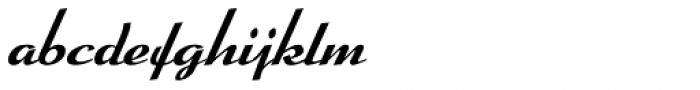 Arabella Pro Medium Font LOWERCASE