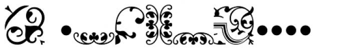 Arabesque Ornaments Two MT Font UPPERCASE