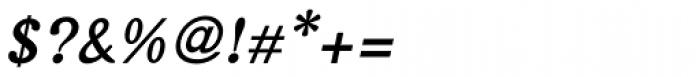 Arabetics Harfi Bold Italic Font OTHER CHARS