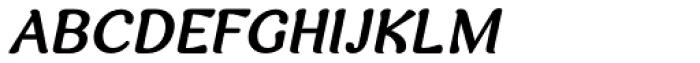 Arabetics Harfi Bold Italic Font UPPERCASE