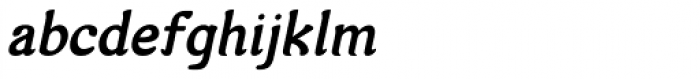 Arabetics Harfi Bold Italic Font LOWERCASE