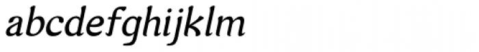 Arabetics Harfi Italic Font LOWERCASE