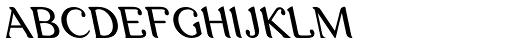 Arabetics Latte Slant Font UPPERCASE