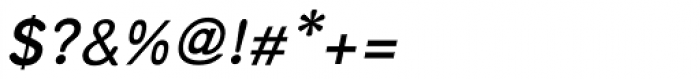Arabetics Symphony Bold Italic Font OTHER CHARS