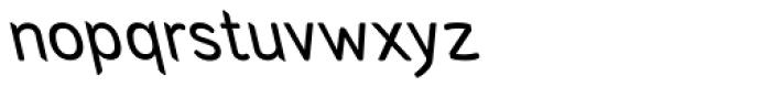 Arabetics Symphony Slant Font LOWERCASE