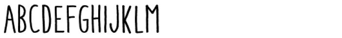 Aracne Condensed Font UPPERCASE