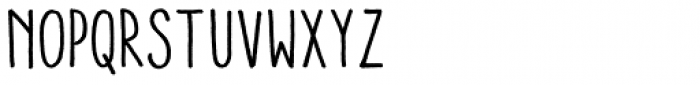 Aracne Condensed Font LOWERCASE