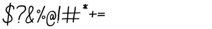 Aracne Italic Font OTHER CHARS