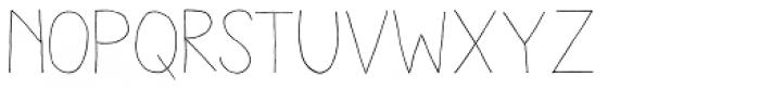 Aracne Light Font LOWERCASE