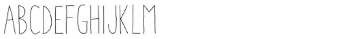 Aracne Soft Condensed Light Font UPPERCASE