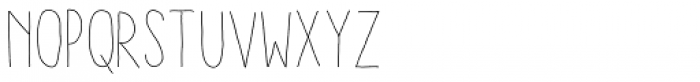 Aracne Soft Condensed Light Font LOWERCASE