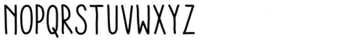 Aracne Soft Condensed Font UPPERCASE